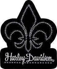 HARLEY DAVIDSON Fleur De Bling  EMBROIDERED PATCH
