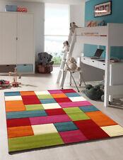 Kinderteppich Spielteppich Rainbow, Regenbogen, Bunt, Patchwork 80cm x 150cm NEU