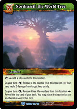 Wow Warcraft Tcg Crown Of The Heavens : Nordrassil World Tree X 4