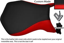 RED & BLACK CUSTOM FITS MV AGUSTA F4 99-09 750 1000 FRONT RIDER SEAT COVER