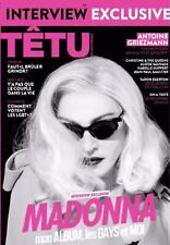 MADONNA NEW FRANCE TETU MAG EXCLUSIVE INTERVIEW