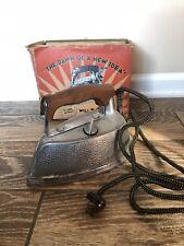 Vintage Electric Steam Iron Steem Elecric Corp