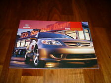 Honda Civic Sedan und Coupe Prospekt 2004 Amerika