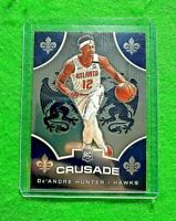 DE'ANDRE HUNTER SILVER CHROME ROOKIE HAWKS 2019-20 CHRONICLES CRUSADE BASKETBALL