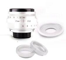 Fujian 25mm F1.8 CCTV TV Movie lens+C Mount to Sony Nex-5T N6 N7 N-5R A6000 silv