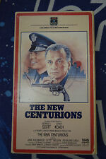 The New Centurions VHS George C Scott Stacy Keach Rare OOP