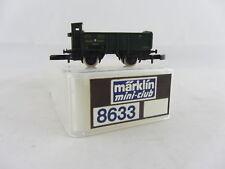 Märklin 8633 offener Güterwagen 2-achsig grün Bayern, sehr guter Zustand mit Ver