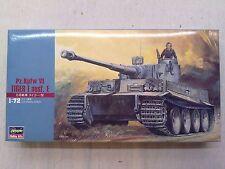 Hasegawa MT8 31108 Pz.Kpfw. VI Tiger I Ausf. I 1:72 Neu & nicht eingetütet