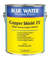 Blue Water Marine Copper Shield 25, Black Gallon