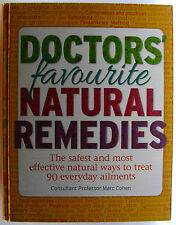#^W7,,  DOCTOR'S FAVOURITE NATURAL REMEDIES, HC VGC