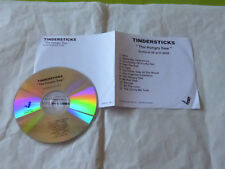 TINDERSTICKS - THE HUNGRY SAW !!!! ULTRA RARE FRENCH PROMO  CD