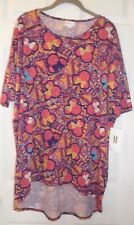 MEDIUM (M) LulaRoe Minnie Mouse Disney Irma Pink Multi-Color NWT