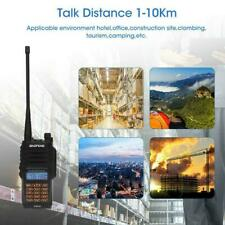Baofeng UV-9R Plus VHF UHF Walkie Talkie Dual Band 18W Radio Way Two G6H9