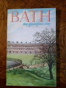 1958 Bath Guide Book Bath the Georgian City