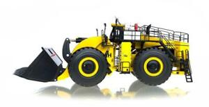"""LeTourneau L1850 Loader - """"Yellow"""" - 55yd Bucket - 1/50 - Weiss Brothers"""