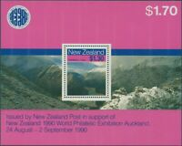 New Zealand 1988 SG1473 Scenic Walkways MS MNH