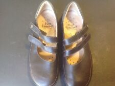 FINN COMFORT Made In Germany Brown Leather Loafer Mary Janes Shoes Sz 39
