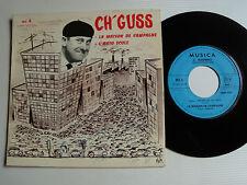 Ch 'guss: la maison de campagne/self school 45t 1969 musica 6 Boulogne sur mer