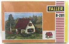 NEW, Sealed! HO Scale Building Kit - Faller B-201 Small Chalet Settlement House