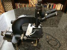 Leitz Wetzlar Germany  Ortholux trinocular microscope with 402a condenser