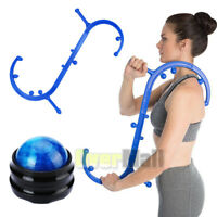 Body Back Buddy Therapy Self Massage & Massage Roller Relief Pain Fast Recovery