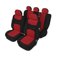 Red & Black Car Seat Covers Package set - For Alfa Romeo 147 2001 to 2010