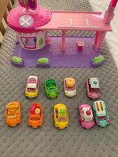 4 Level Modern Car Park Multi Stack Skyline Garage Set Kids Gas Station Play Set