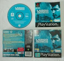 LARGO WINCH COMMANDO SAR Sony PlayStation ps1 psx gioco game completo ubisoft