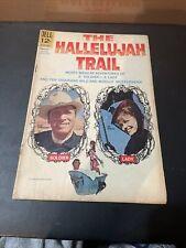 The Hallelujah Trail Movie Classic Burt Lancaster Lee Remick Dell Comic 1966