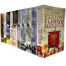 Conn Iggulden Emperor & Conqueror Series Blood Of Gods 10 Books Collection Set