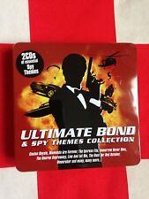 Coffret métal 2 cd des musiques de James Bond
