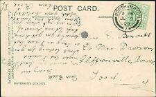 Edith Bennett c/o Mrs Dawson, Cliffonville Avenue, Northampton 1909 Rose   RL.27