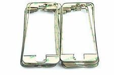 Black LCD Touch Screen Front Middle Frame Bezel With Adhesive For iPhone 5S Part