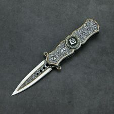 SPRING OPEN ASSISTED TACTICAL FOLDING POCKET KNIFE *FREE SHIPPING!*