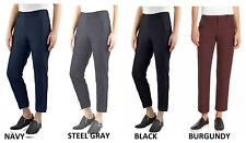 "Kirkland Signature Ladies' 27"" Ankle Length Travel Pants, Color, ALL Sizes, NWT"