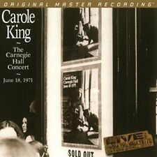 Carole King-The Carnegie Hall Concert + 2lps VINILE 180g + + MFSL 2-351+ + NUOVO + OVP