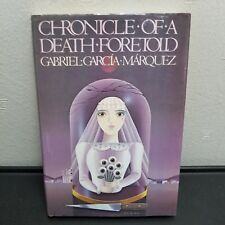 Chronicle Of A Death Foretold 1982 Gabriel Garcia Marquez HC DJ