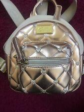 Luv Betsey Johnson  Mini Handbag Backpack in Creme