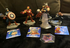 Marvel Avengers lot Disney Infinity Thor Iron Man Captain America Black Widow