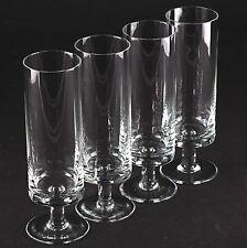 4 Vintage klassisch moderne Biergläser schlichtes Design Cocktail Gläser W6D