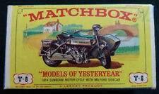 Matchbox Models of Yesteryear Sunbeam Diecast Cars, Trucks & Vans