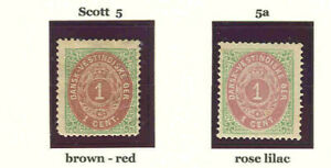 DWI  5 and 5a mint