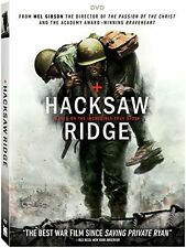 Hacksaw Ridge (DVD, 2017) INCLUDES SLIPCOVER - FAST SHIPPING - SAME DAY
