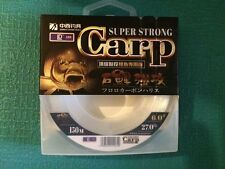 YGK 150m Carp Fishing Nylon Line Super Strong #6 - 27Lb  Japan  !