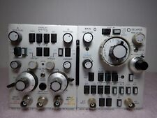 Hp 1805a Dual Channel Amplifier And 1825a Time Base Delay Generator