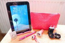 Samsung Galaxy TAB 2 P3100 l 7 Zoll l Pink EXTRAS  XXL SET l GUT l WLAN SIM 3G
