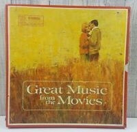 ☆4 Album Set!! Reader's Digest Great Music From The Movies Album Set☆ Excellent!