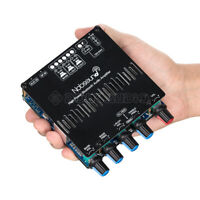 HiFi 2.1 Channel Bluetooth 5.0 Power Amplifier Board+Case Stereo Subwoofer Amp
