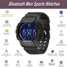 NORTH EDGE AK Portable Bluetooth Men Sports Watches 0pen And Close Ble Function