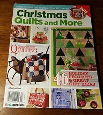 Better Homes CHRISTMAS QUILTS & MORE, November 2016 Magazine(s), NEW